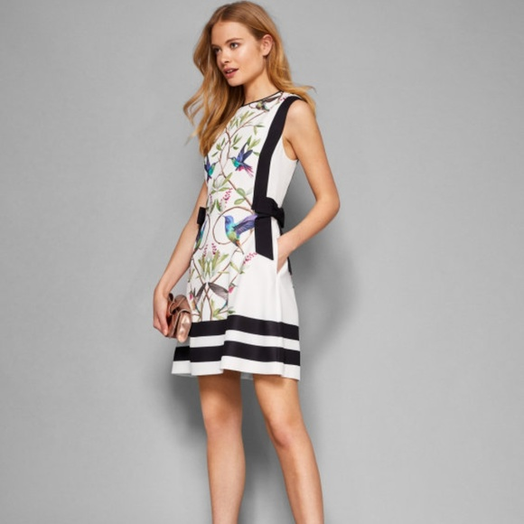 deaf28733adf5 Ted Baker Highgrove Bow Detail Pinafore Dress. M_5b646acf194dad22af798acb